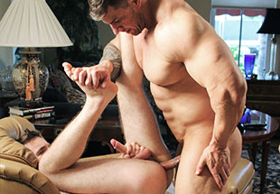 Zeb Atlas Fucking his friends tight asshole