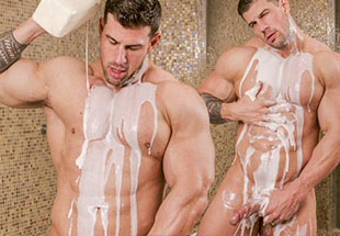 Zeb Atlas Behind The Scenes Shower Solo Photoshoot