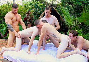 Dallas Reeves Convinced Zeb On His First Orgy